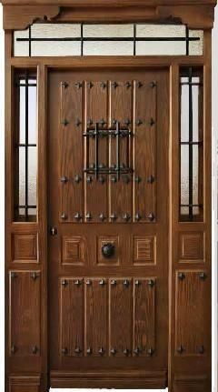 Puertas de exterior de madera precios puertas de entrada for Puertas rusticas exterior aluminio precios