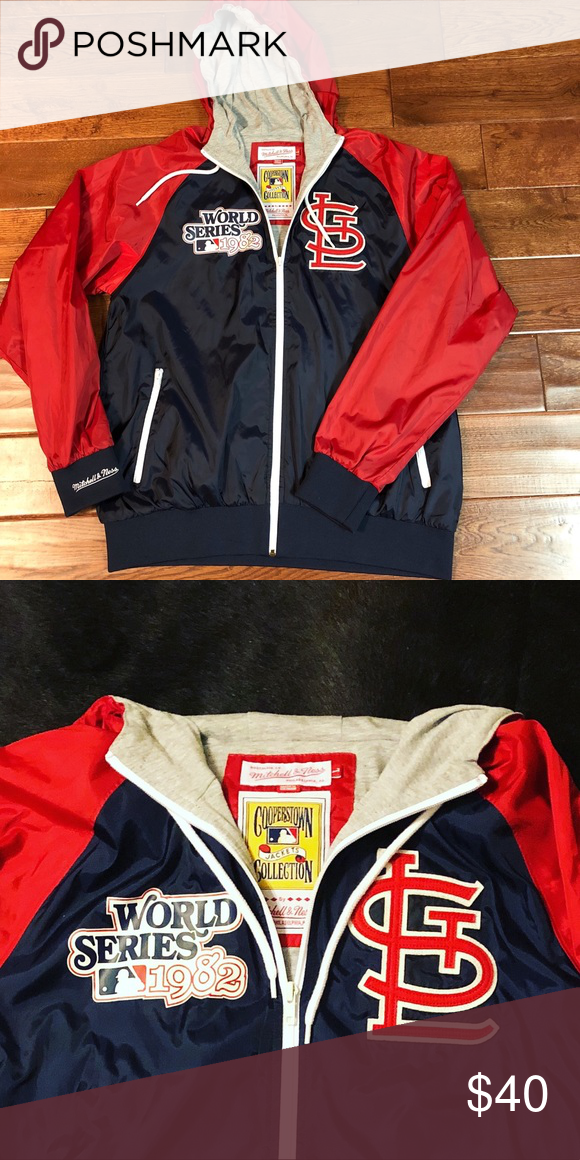 newest 585bd bdd81 Mitchell & Ness St. Louis Cardinals Jacket Mitchell & Ness ...