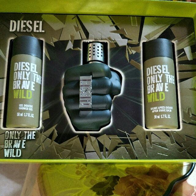 Buy Diesel Only The Brave Wild Gift Set In Singaporesingapore Eau
