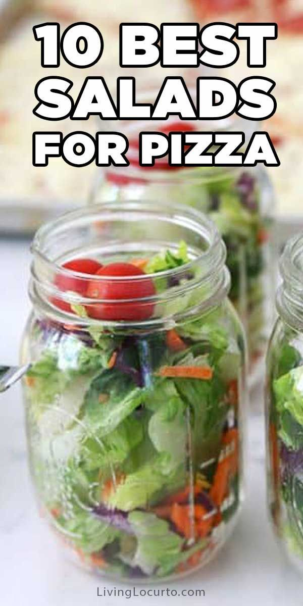 10 Best Salad Recipes to pair with pizza Good ideas for dinner or a party