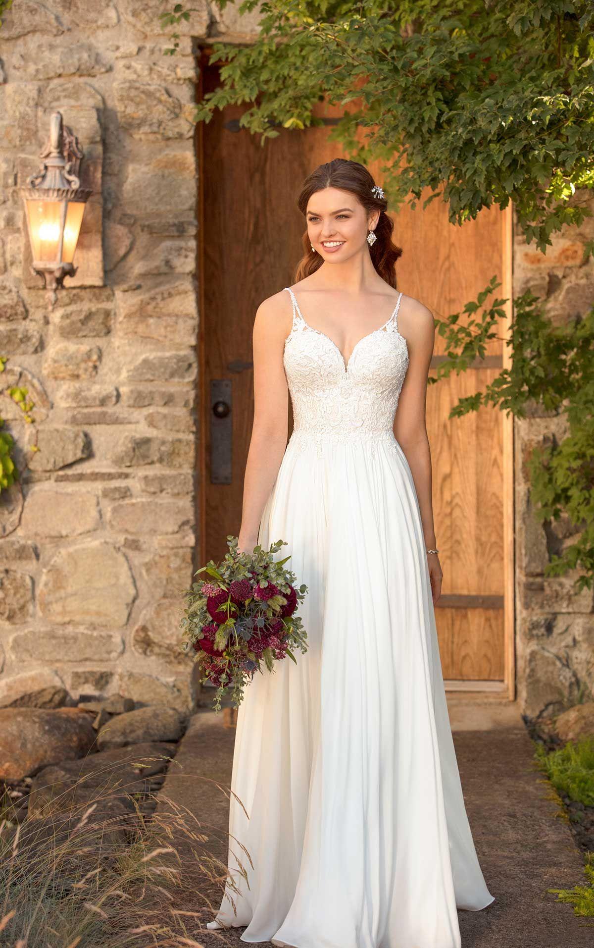 D2456 | Ultimate Beach Wedding Gown by Essense of Australia | Dreamy ...