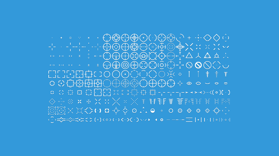Kenney Crosshair Pack Game Assets Packing Twitter Sign Up