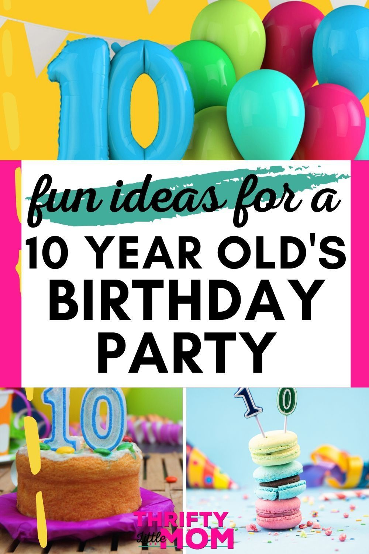 10 Year Old Birthday Party Ideas Boy Birthday Decorations Indoor Birthday Parties Fun Birthday Party
