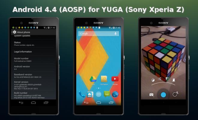 ADMINISTRADORA EL LAGO - Noticias y Opiniones: Sony lanza las versiones AOSP KitKat para los Xperia L, S, Z, ZL y Tablet Z