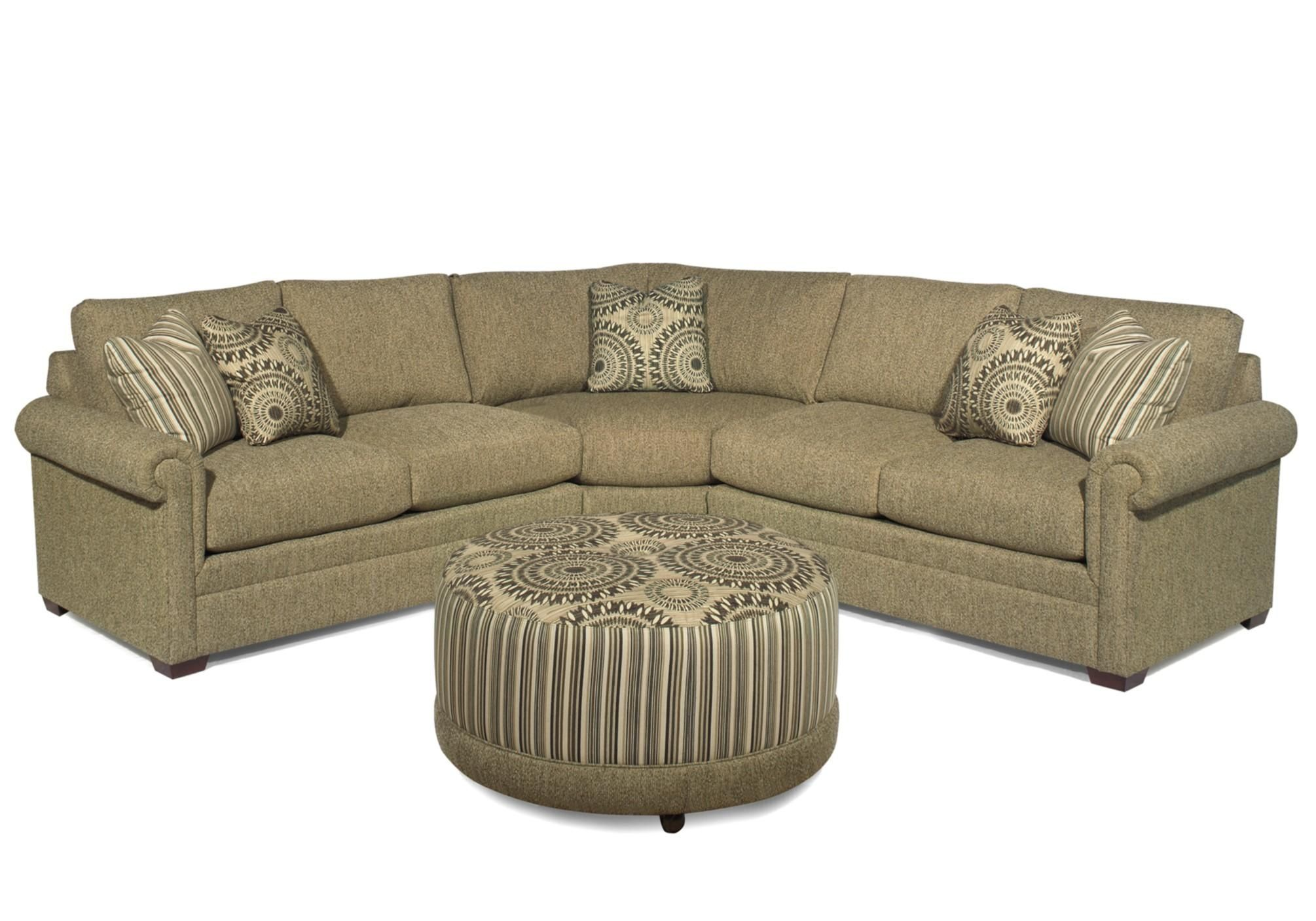 F9 Custom Collection <b>Custom</b> 3-Piece Sectional by Hickorycraft
