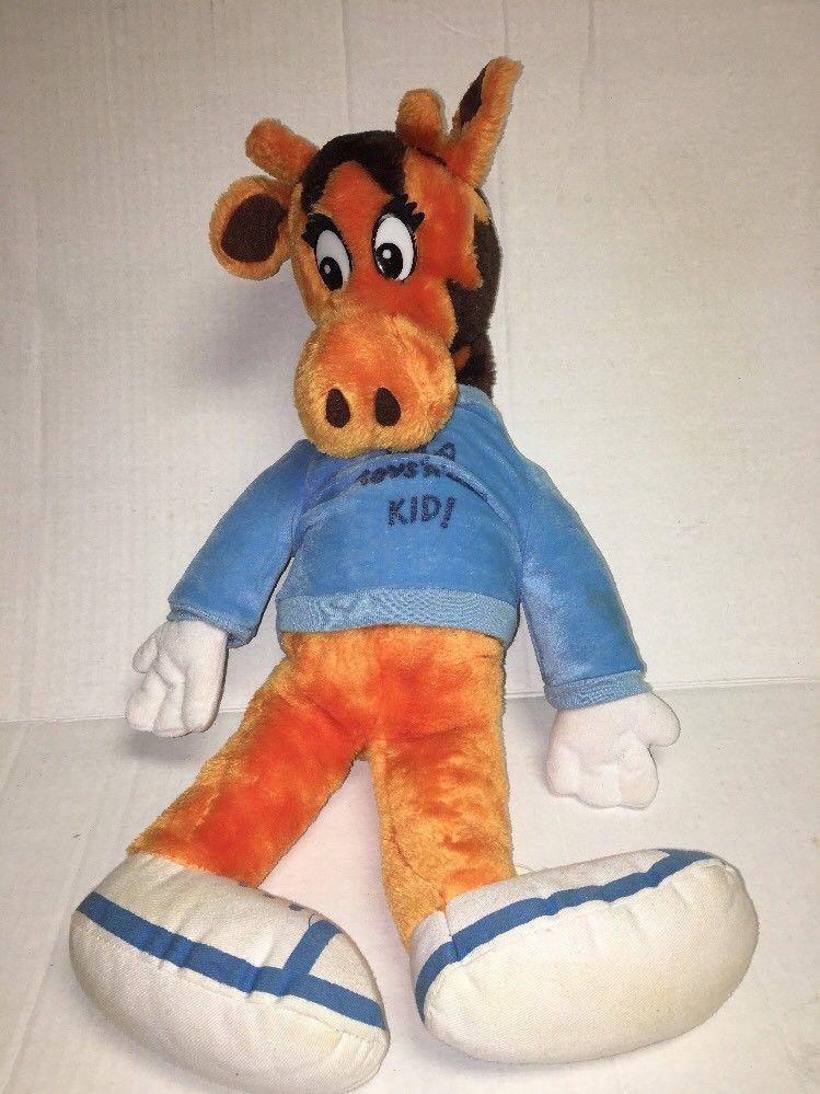 Vintage 80 S Toys R Us Geoffrey Giraffe Plush I M A Toys R Us Kid