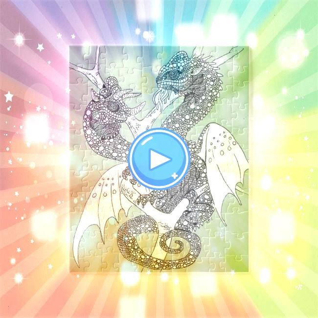 your own Chameleon Dragons Jigsaw PuzzleColour your own Chameleon Dragons Jigsaw Puzzle Click to close image click and drag to move Use arrow keys for next and previous S...