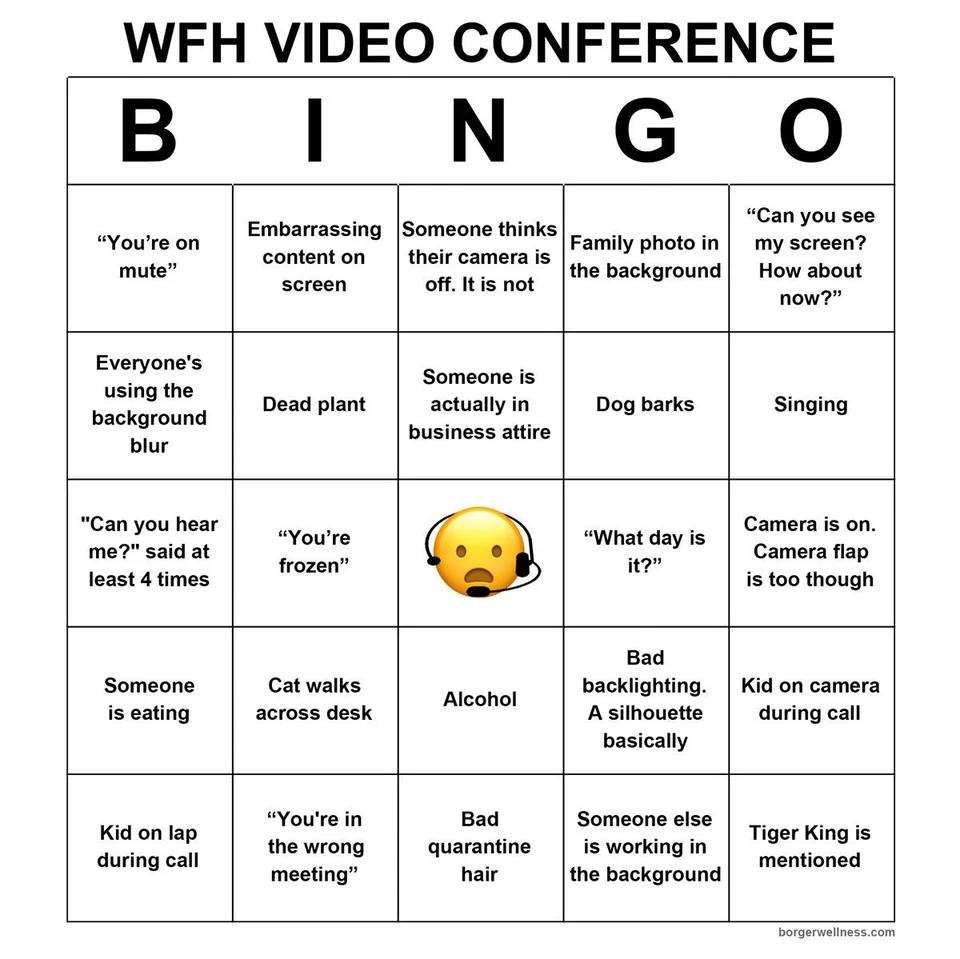 Zoom Bingo 20 Free