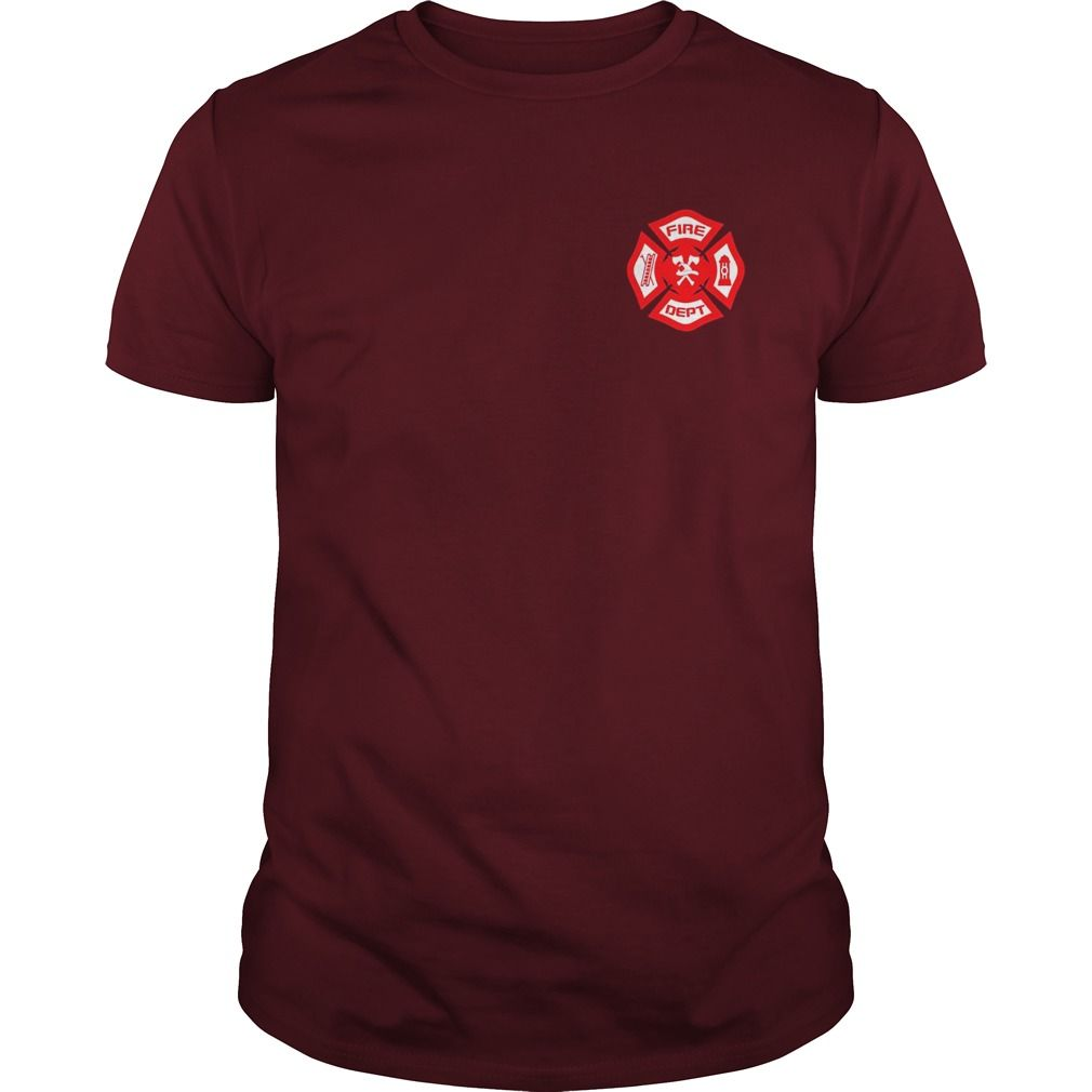 Fire department uniform firefighter gear tshirt gift ideas