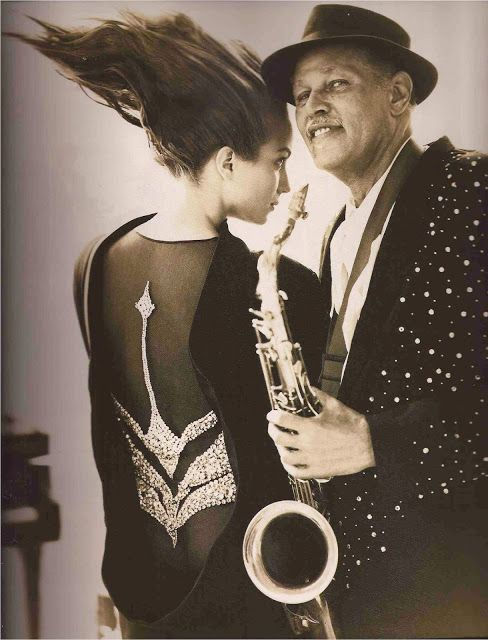 Dexter Gordon in Arthur Mc Gee Thierry Mugler