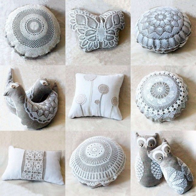 30 lovely diy lace projects craft upcycling and crochet 30 lovely diy lace projects solutioingenieria Images