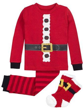 46b595904b Three-Piece Santa Pyjama and Socks Set  ad