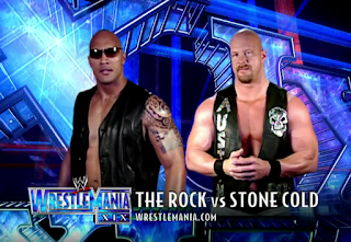 Therock Stonecold Wwe Wrestling Check This Out For A Review Of The Stone Cold Vs The Rock Match From Wrestlemania Xix And Lin The Rock Wrestlemania Cold