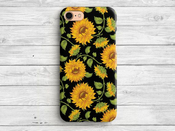 iphone 6 case sunflower