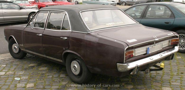 Opel Commodore A Opel Commodore A Sedan The History