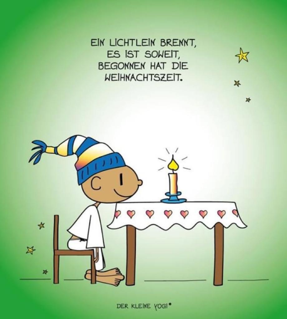 Dritter Advent Comic