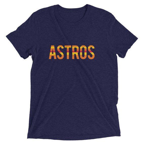 Retro Astros T-Shirt - Houston Astros Shirt - Hou Stros T