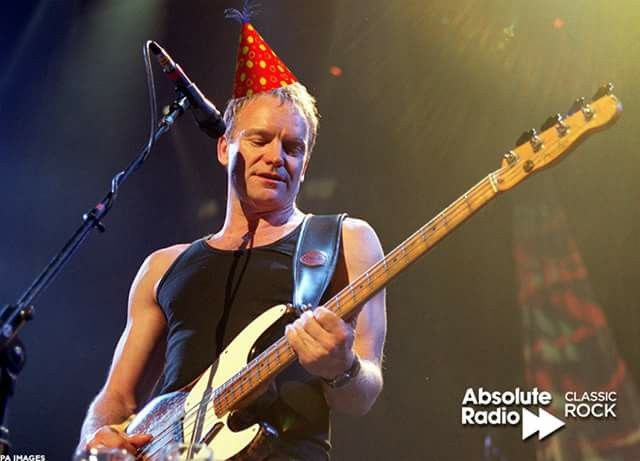 Happy Birthday Sting Oct 2nd Sting Music Album Og Bowie