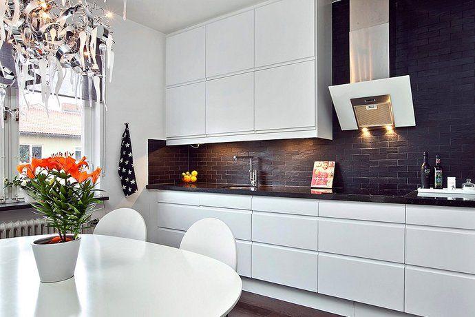Kök kök med : 17 Best images about Kök med tegelvägg on Pinterest | Samsung ...