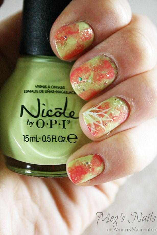 Seize the Summer Nail Art tutorial on MommyMoment.ca