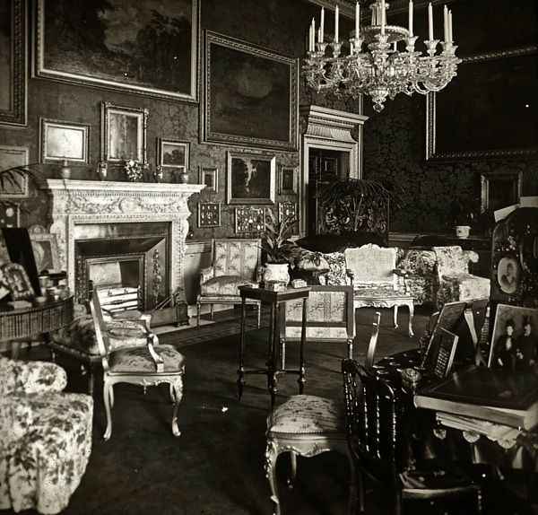 Old Victorian Room: Drawing Room, Devonshire House, C. 1910