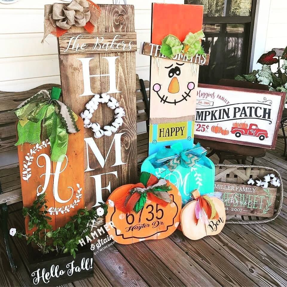 Join us at Hammer & Stain - Murrieta to make one of our Fall Holiday Projects! Customize your project with your choice of stain & paint colors. This registration will allow for one adult to make a single project selected below. You're welcome to BYO wine or beer to sip and snacks to enjoy during the workshop... HOW TO REGISTER:1. Choose your project design from the pictures below and make sure it matches the dropdown menu below. Please note any changes made to design may result in a custom desig