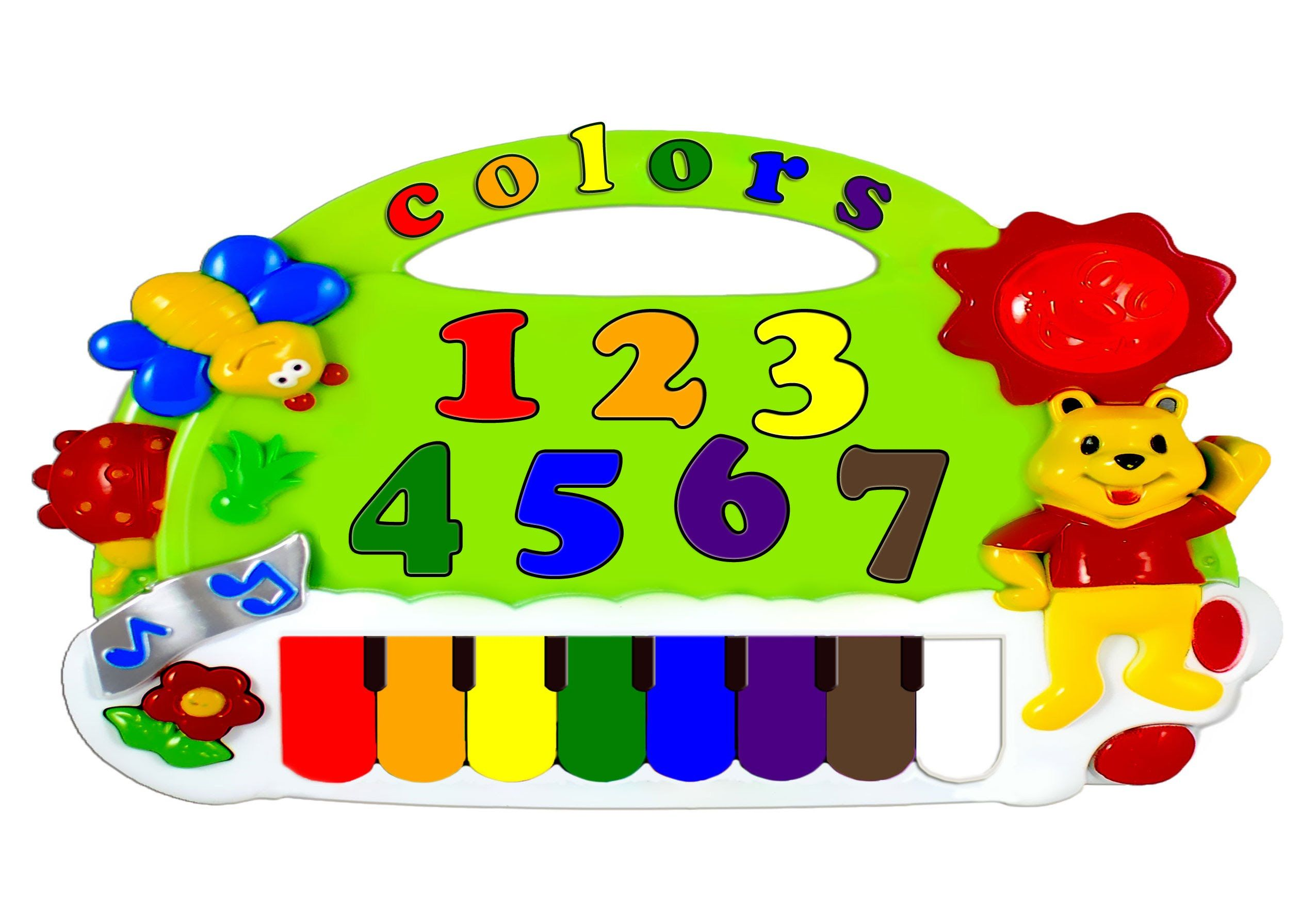 Almost 60 Minute Video Teaches Children The Rainbow Color Names With