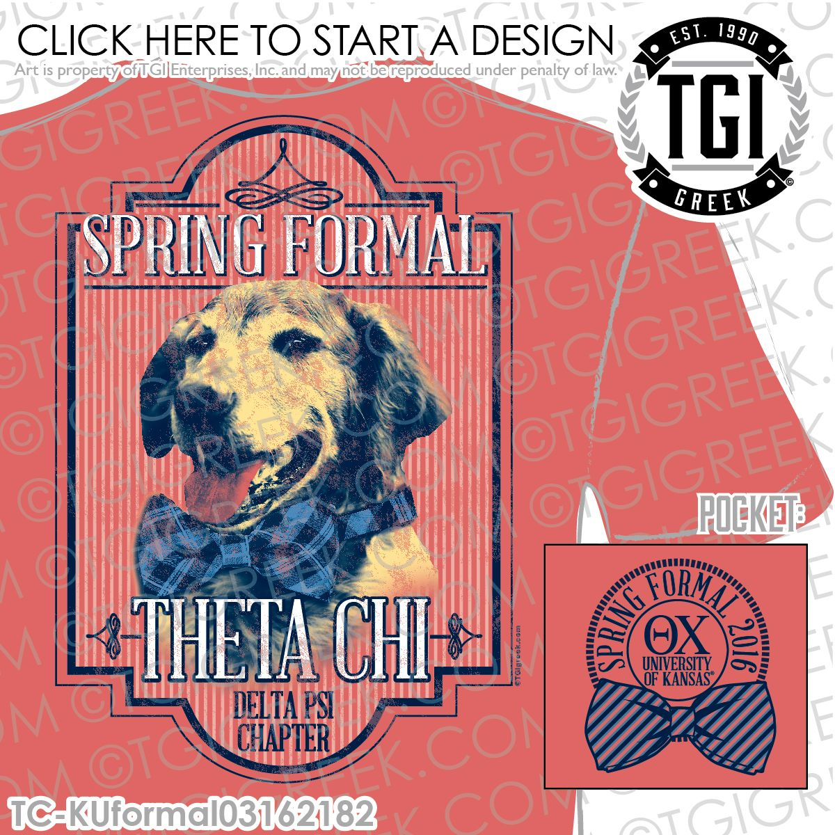 TGI Greek - Theta Chi - Formal - Greek Apparel #tgigreek #thetachi