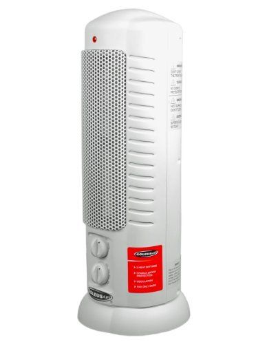 Soleus Air Hc7 15 01 Ceramic Tower Heater 750w 1500watts White Listing Price 79 99 Now 33 10 Tower Heater Heater Space Heaters