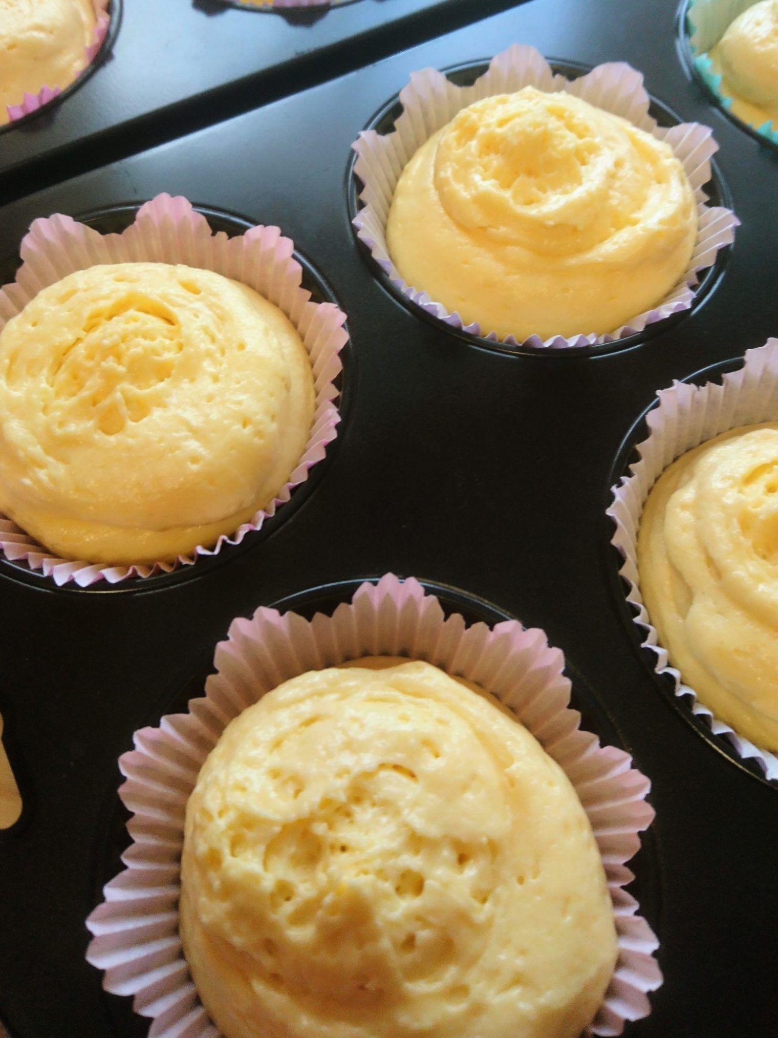 Backen mit Kindern – saftige Zitronenmuffins –
