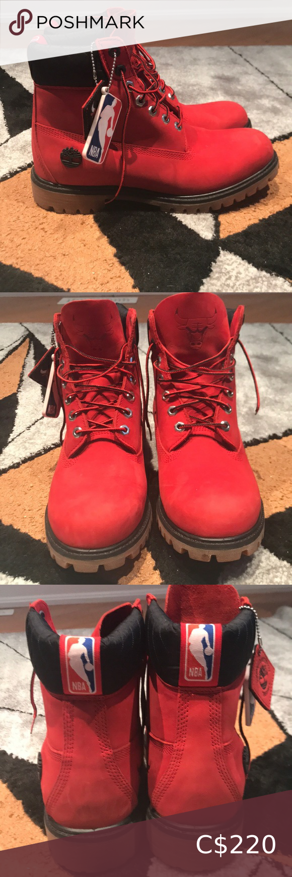 Chicago bulls timberlands limited edition Never worn