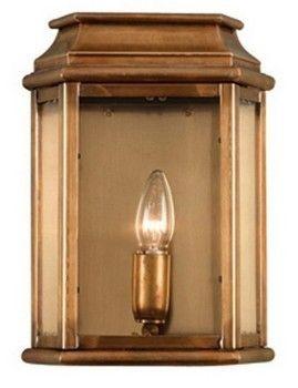Wc2 Solid Brass Outdoor Wall Lantern Antique Brass Iluminacion Living