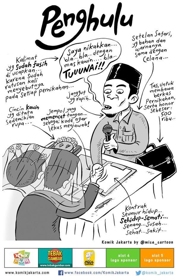 Komik Jakarta On Dengan Gambar Kartun Lucu Komik Lucu Meme