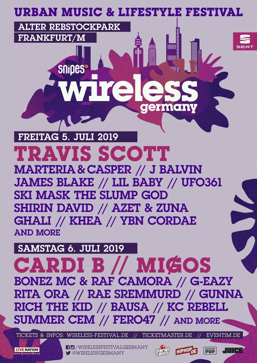 Cardi B Joins The Wireless Festival Germany 2019 Line Up