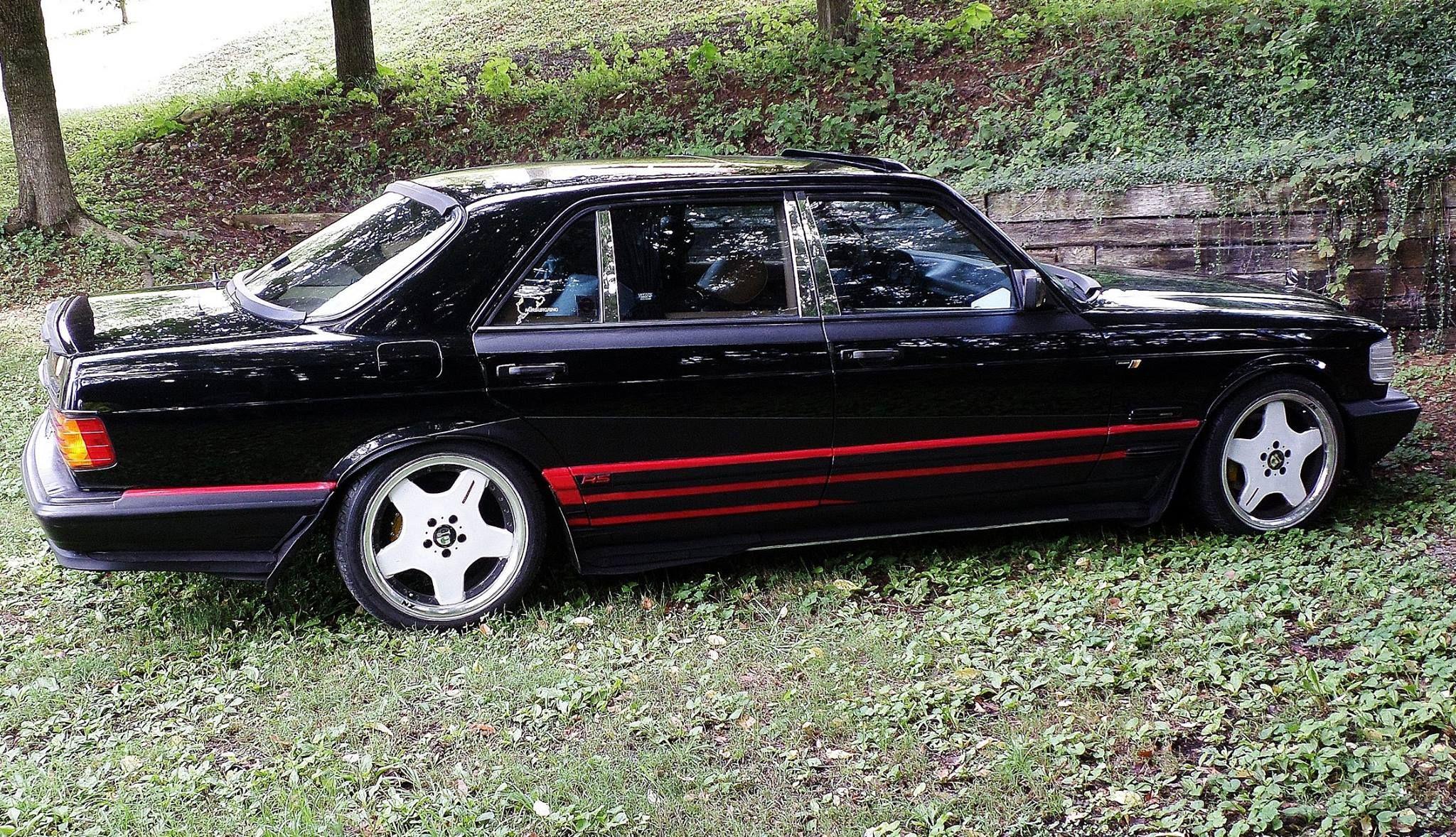 Mercedes-Benz W124 500 E Verkleidung