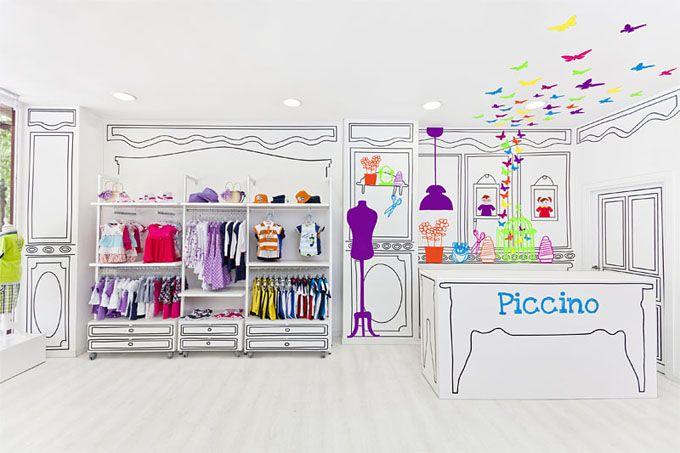 Design Innova: Uma Boutique Infantil em Valencia