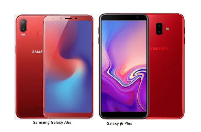 Tspn1 Samsung Galaxy J6 Plus Vs Samsung Galaxy A6s Compa