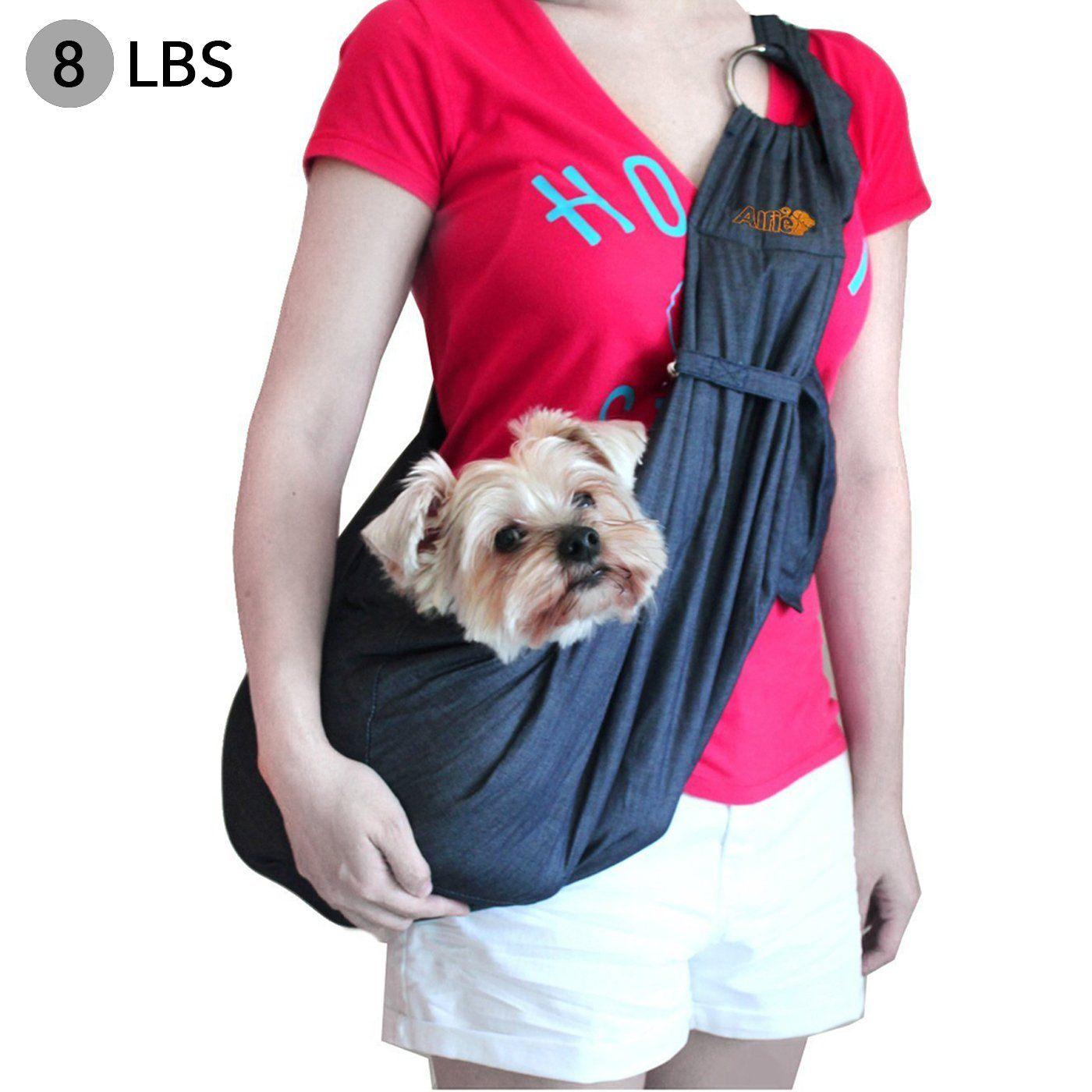 Alfie pet by petoga couture chico 20 revisible pet sling