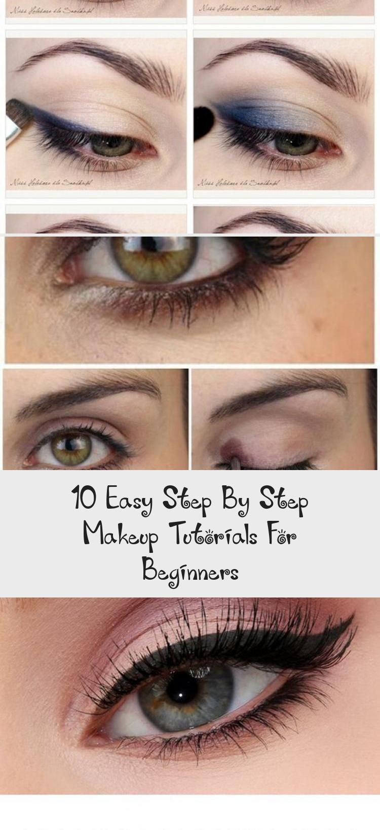 10 Easy Step By Step Makeup Tutorials For Beginners #EyemakeupstepbystepLipstick...#beginners #easy #eyemakeupstepbysteplipstick #makeup #step #tutorials