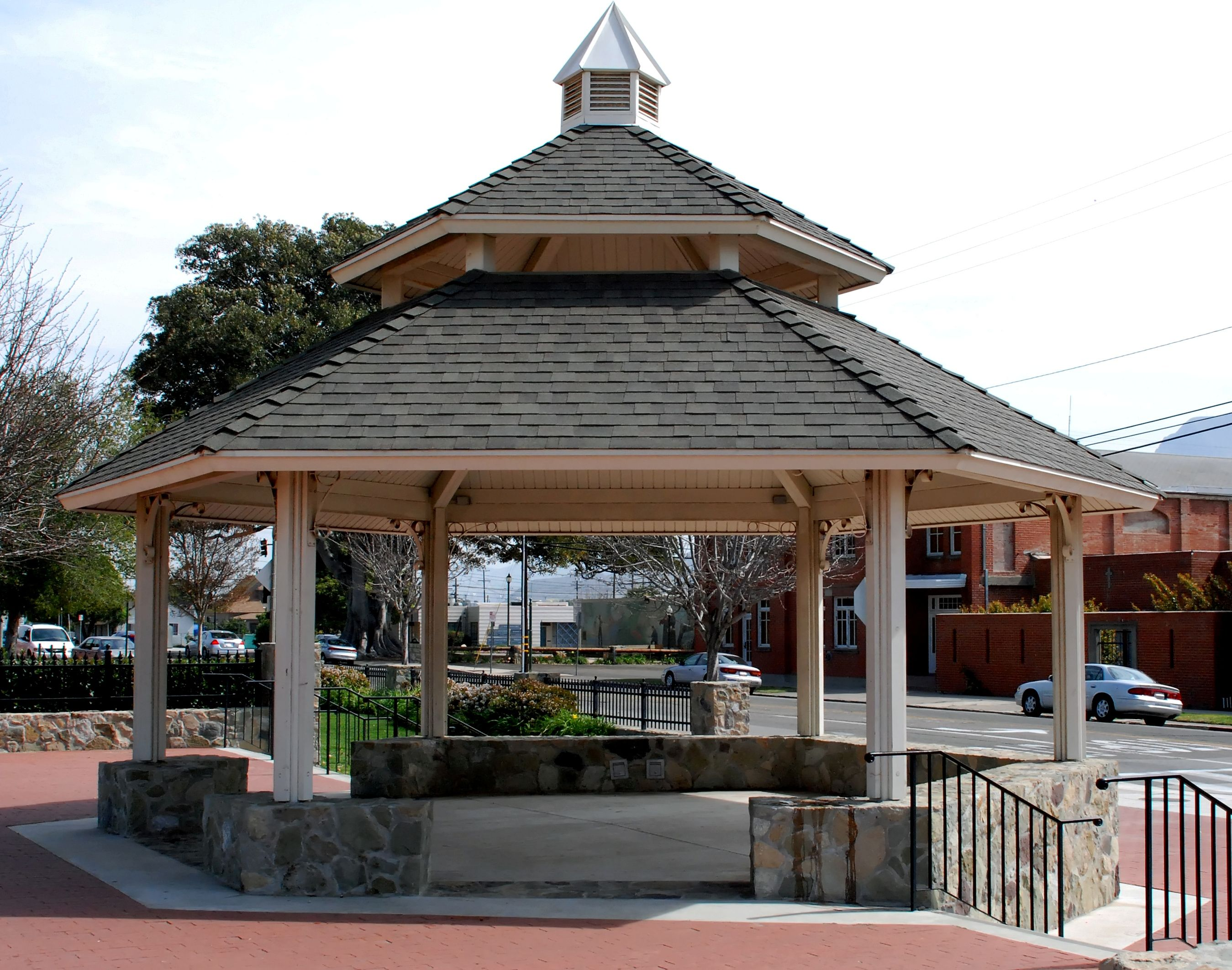 metal gazebo canopy Metal Gazebo Kits Pinterest