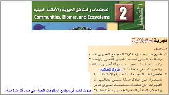 الأحياء ثالث ثانوي النظام الفصلي الفصل الدراسي الثاني Convenience Store Products Ecosystems
