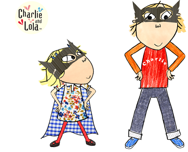 Charlie And Lola Childrens Illustrations Lola Character Design