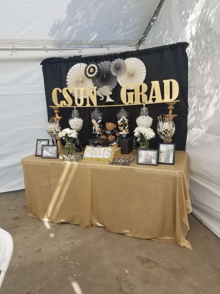 Graduation party graduation end of school party ideas in for Graduation decorations