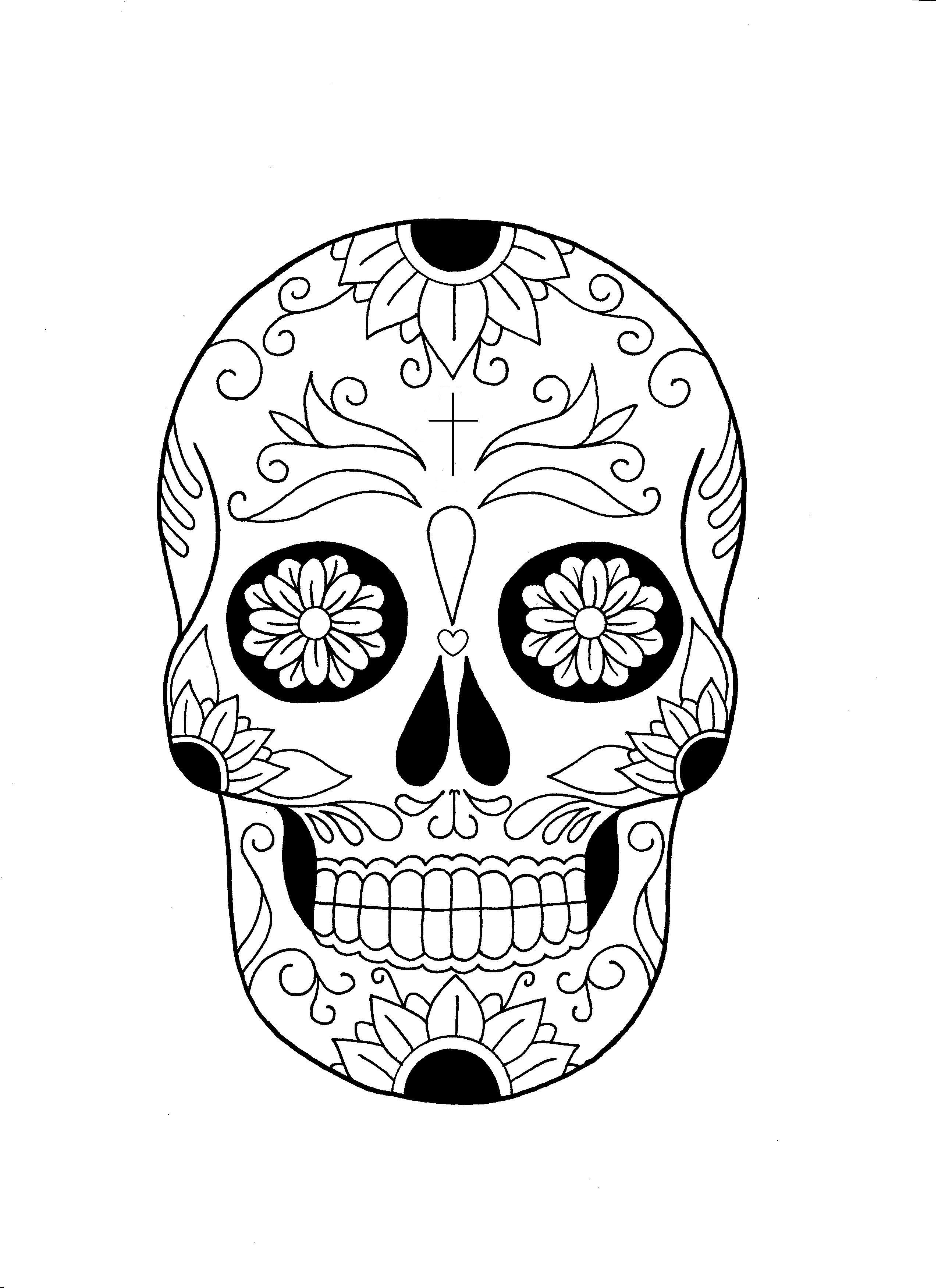 Messican skull flowers - Fantin Valerio