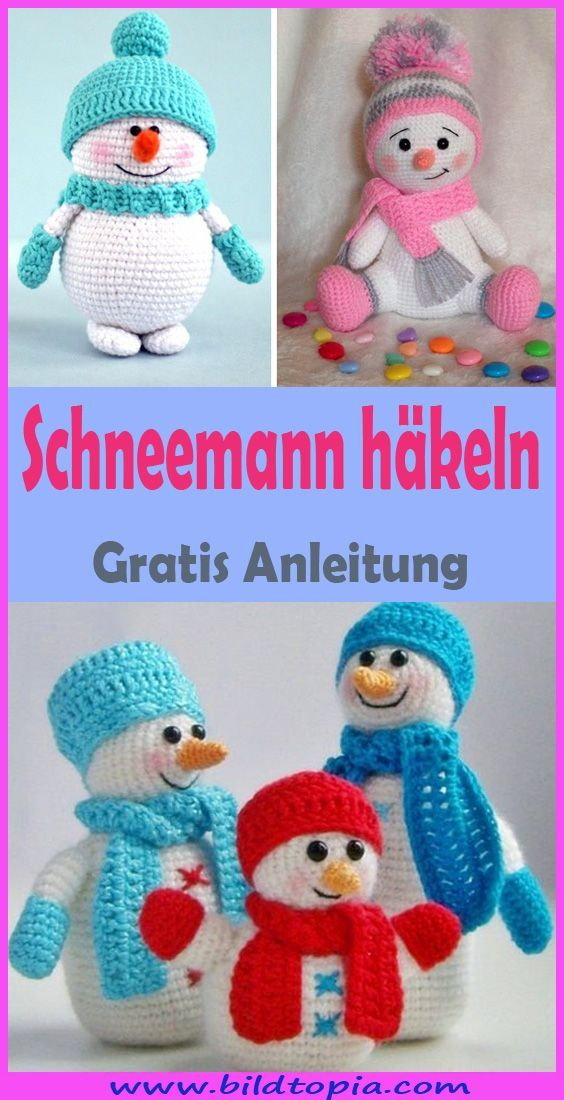 Photo of Crochet Amigurumi Snowman – Free DIY Instructions – In This Free …