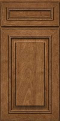 KraftMaid Cabinets -Square Raised Panel - Solid (AA0M) Maple in Rye from waybuild