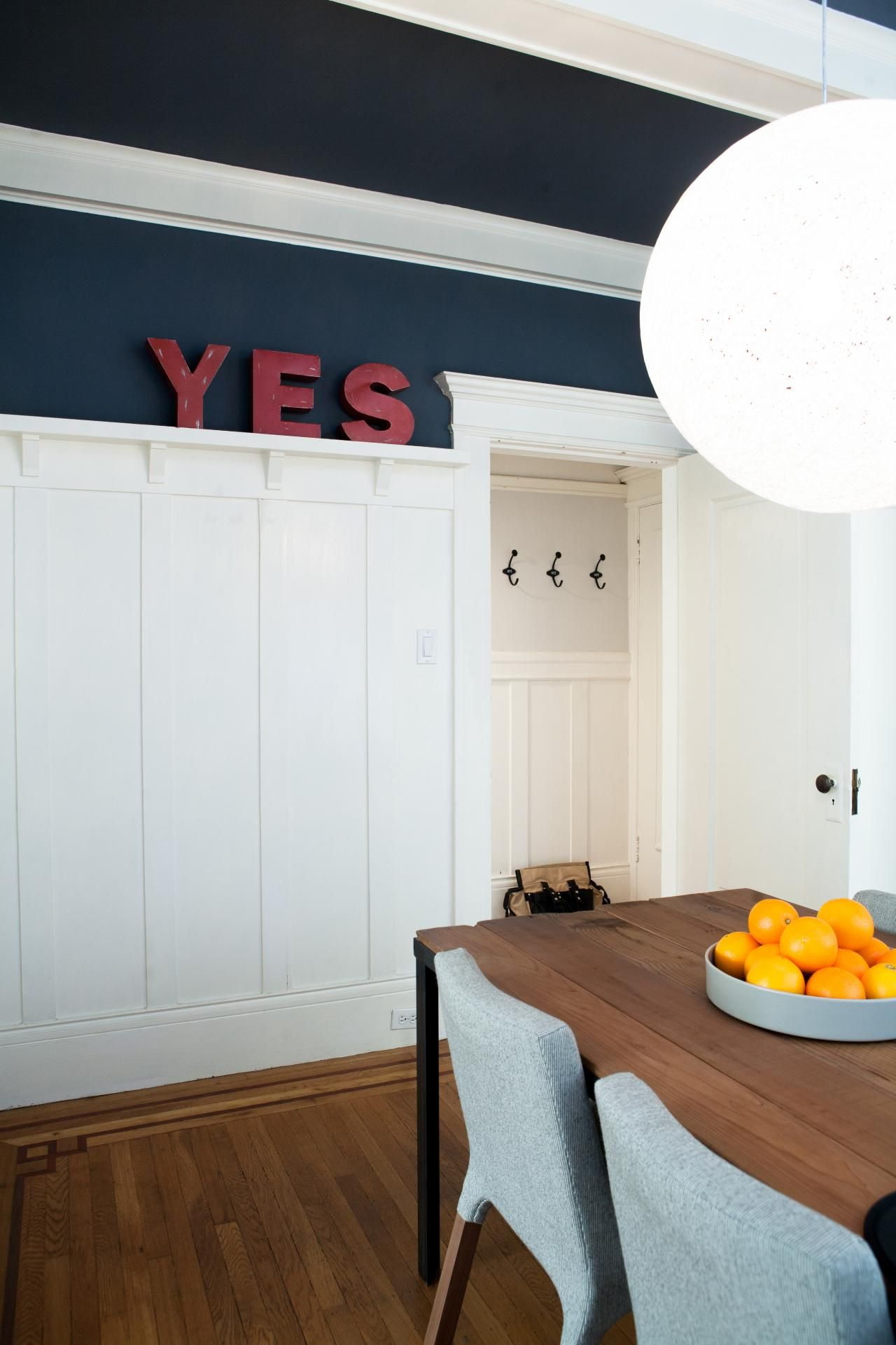 Best Use of Color | Pinterest | Hgtv, Spaces and Navy walls