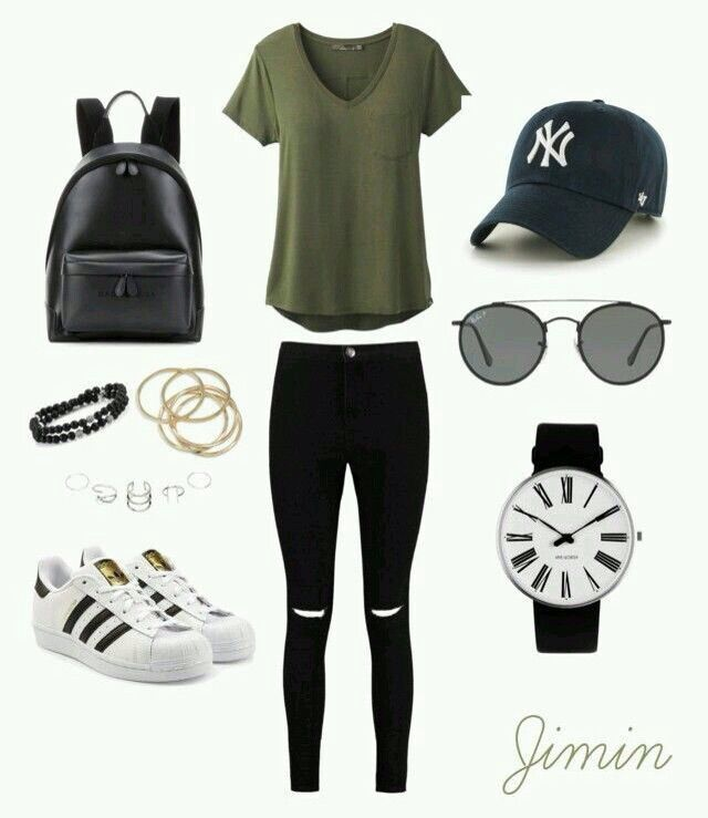 beautiful outfits inspirados en bts 11