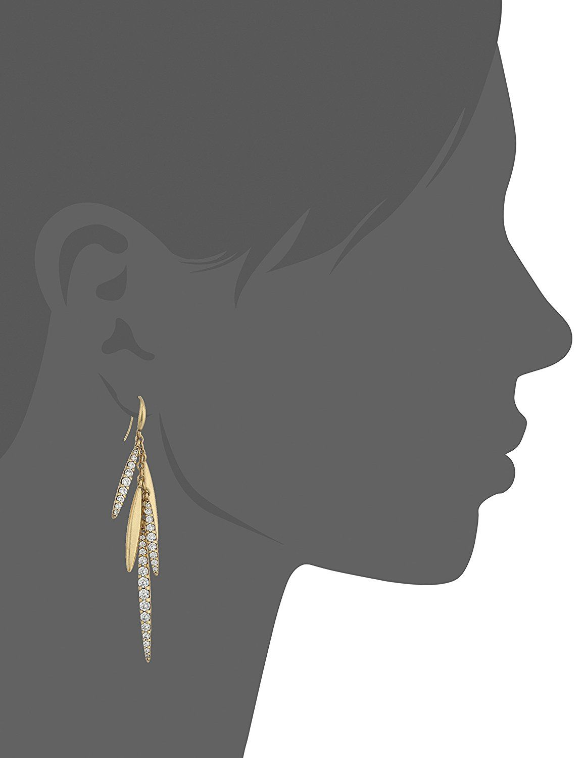 Nicole Miller Artelier Long Sweet Pea Fringe Drop Earrings Want To Know More Click On The Image This Is An Affiliate Link Jewelry