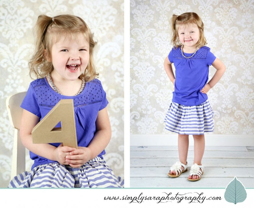 4 Year Old Girl Photo Ideas